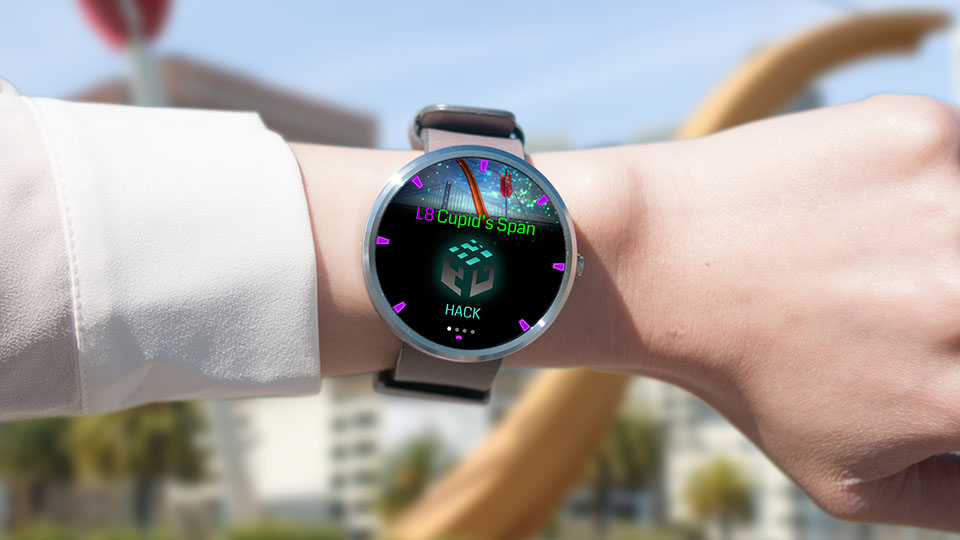 Ingress App android wear