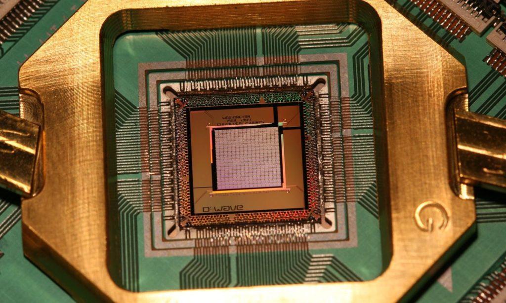d-wave quantumprocessor