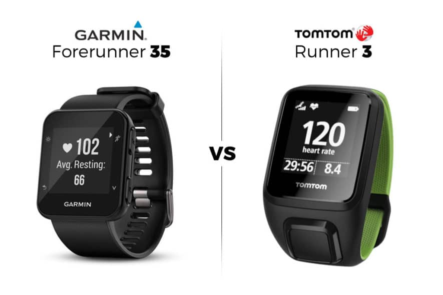 Garmin Forerunner 35 vs Tom Tom Runner 3