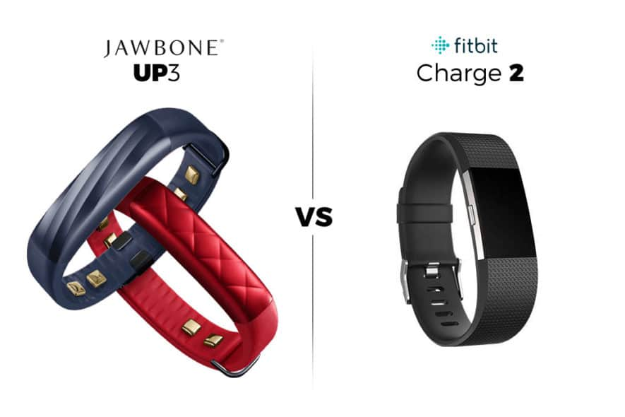 Jawbone UP3 VS. Fitbit Charge 2