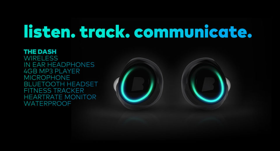 bragi dash fitness tracker