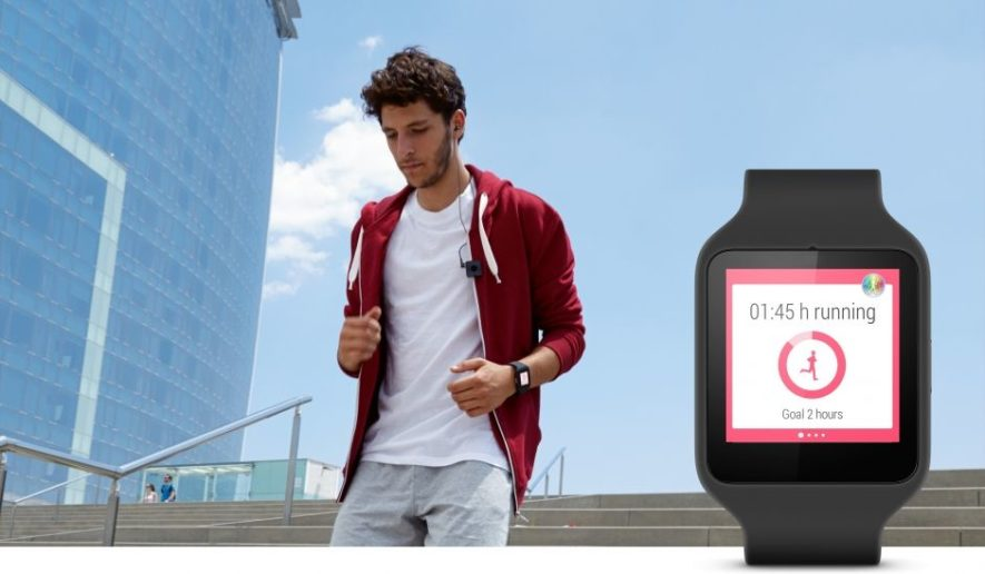 smartwatch 4 running
