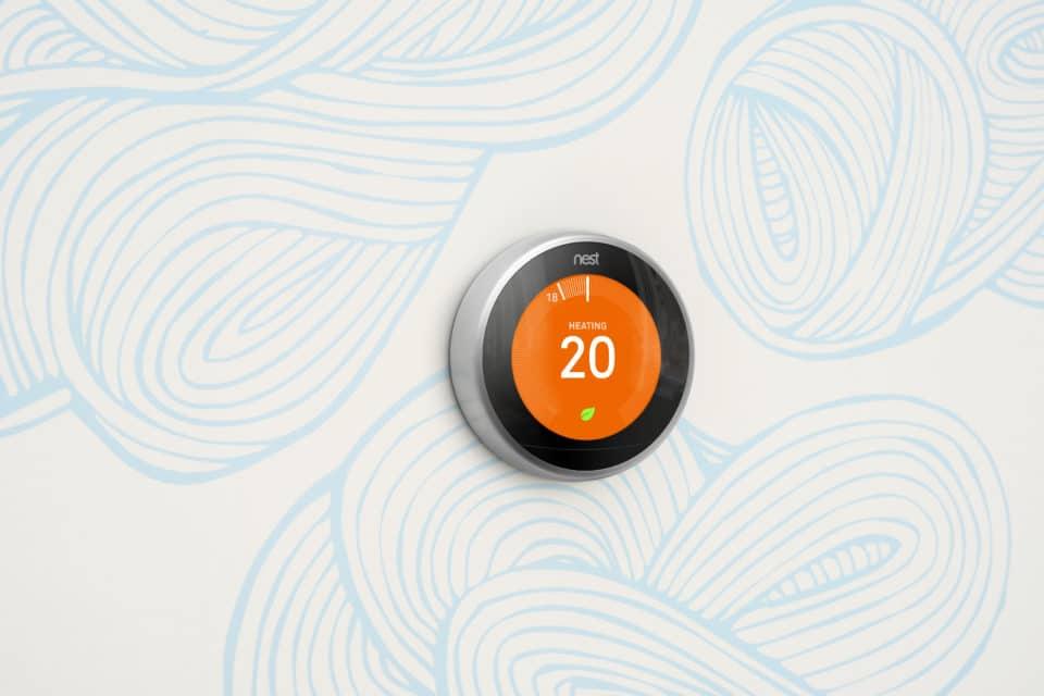Nest Thermostat Smart Sensor Technology