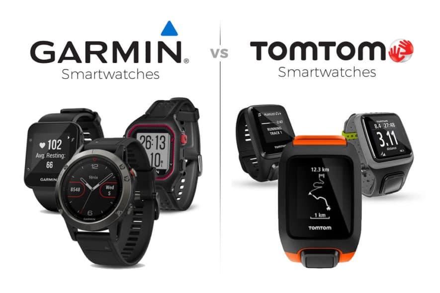 Garmin vs TomTom Smart Watch Review - Garmin vs Tomtom