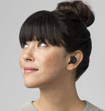 HereOne Smart Wireless Earbuds in Black