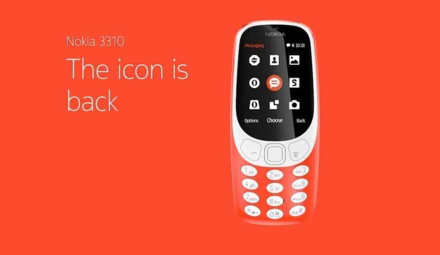 Nokia 3310 MWC