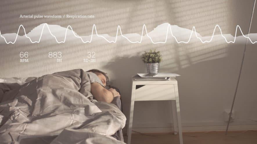 Oura ring sleep monitor