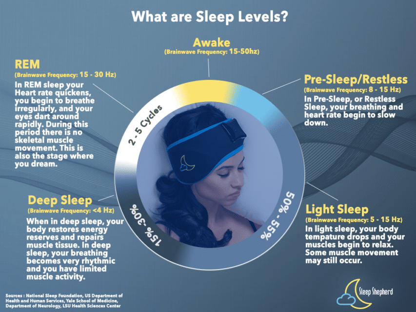 sleep levels explained sleep monitor