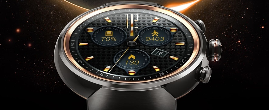 Zenwatch 3 could easily be mistaken for a luxury-branded analog watch