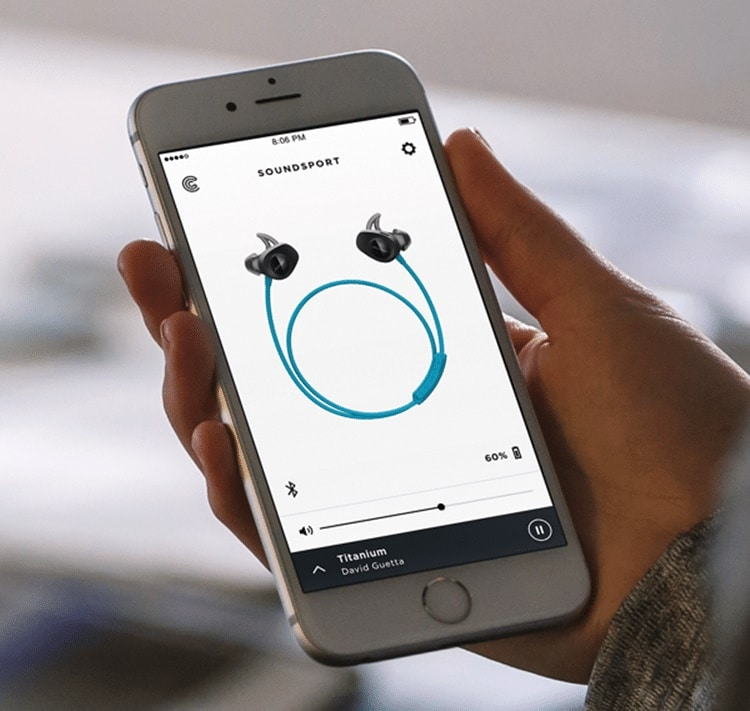 Personalization is the main focus of the Soundsport wireless headphones.