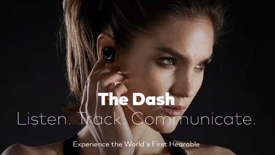 Bragi The Dash has 4GB of storage in addition to Bluetooth connectivity
