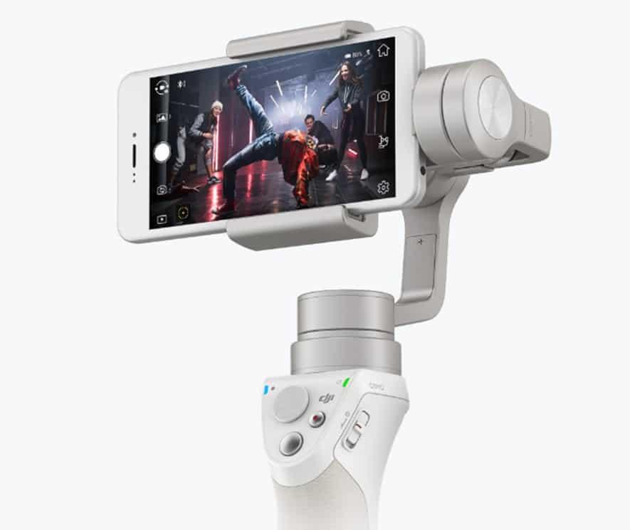 DJI Drone operates its 4K camera
