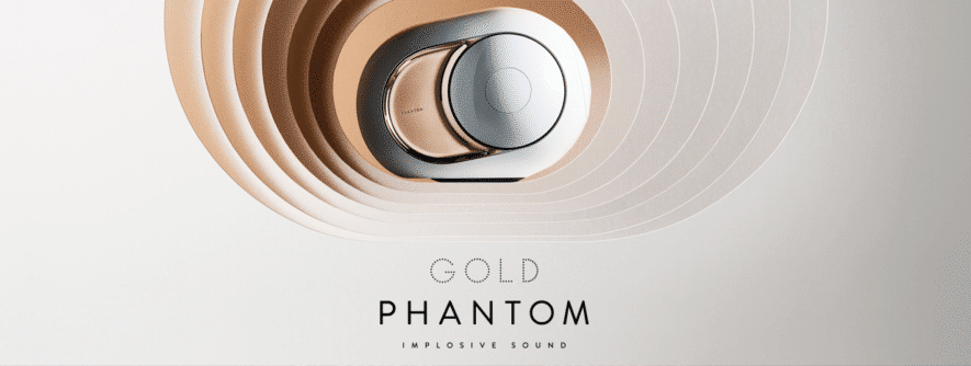Devialet Gold Phantom exclusive speaker