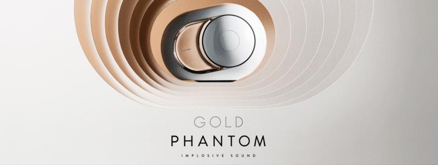 Devialet Gold Phantom exclusive speaker