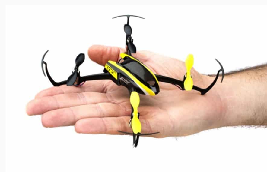 Smaller drones are more popular now