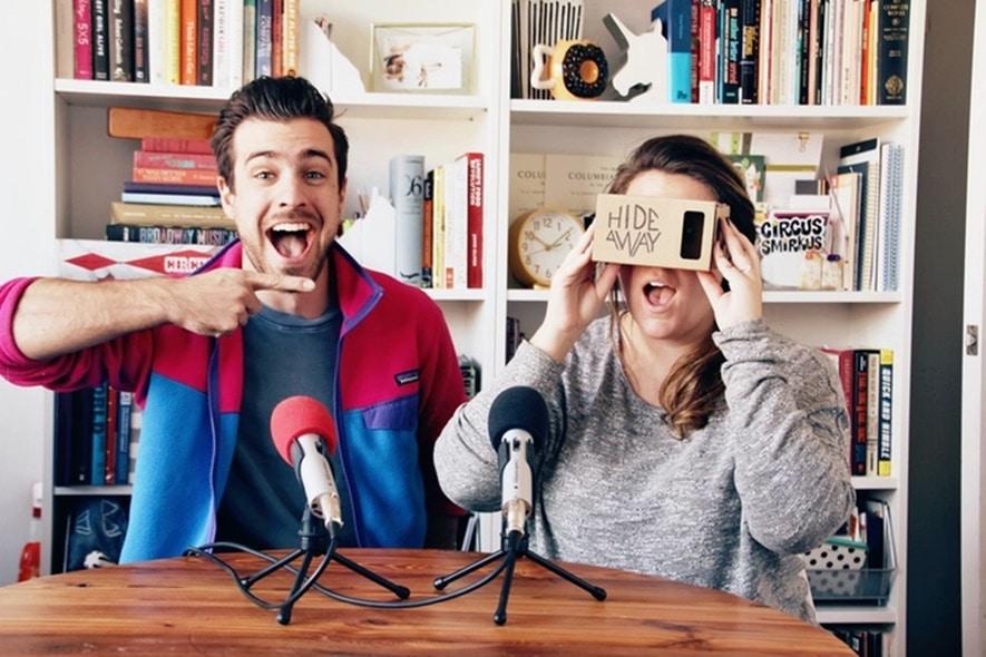 Hideaway circus virtual reality