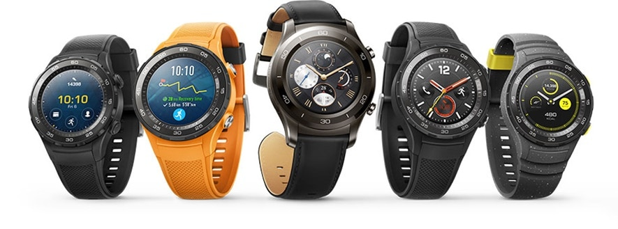 The rugged looking Watch 2, and the thinner, more elegant Watch 2 Classic.