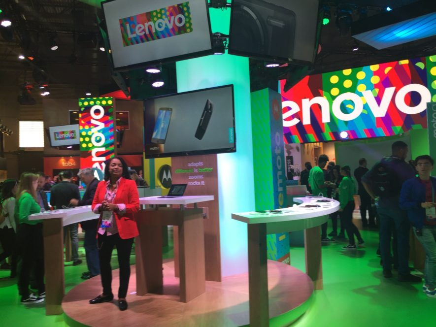 Lenovo Product Presentation MWC