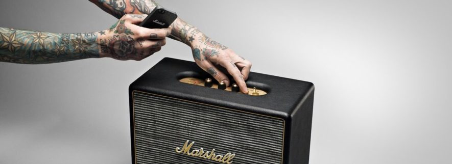 Marshall Woburn Loudest Bluetooth Speaker