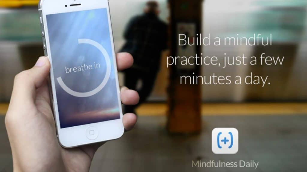 The Mindfulness Daily helps you track how long you've stuck to your meditation practice