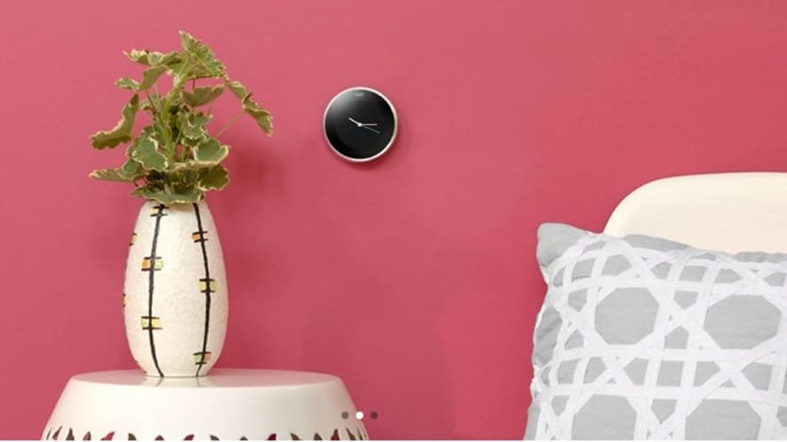 Nest Learning Thermostat is responsible for adjusting to your lifestyle.