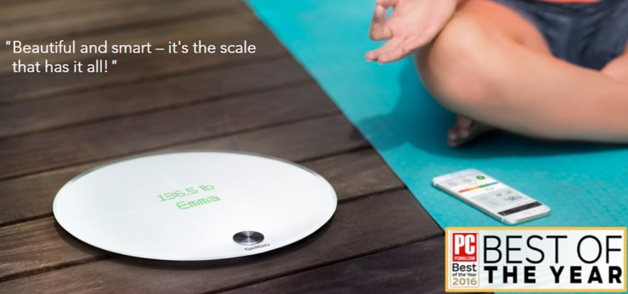 QardioBase smart scale has a set of unique features