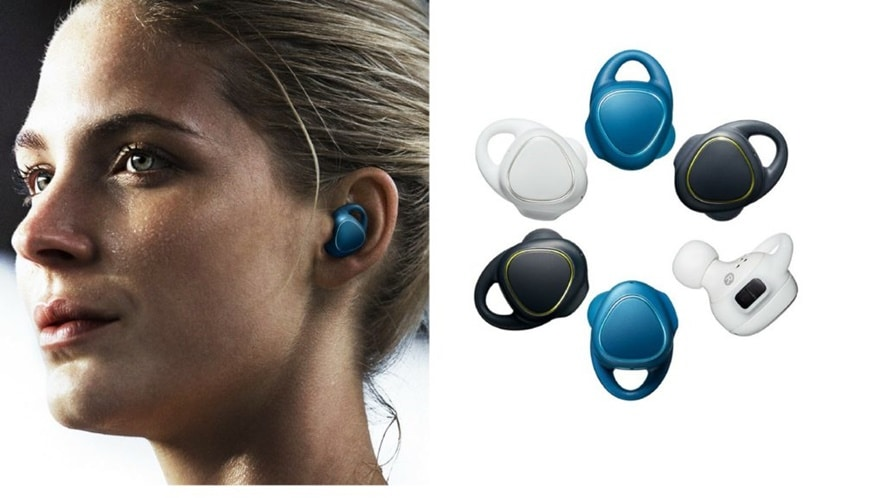 Icon X earbud pair has a built-in heart rate monitor.