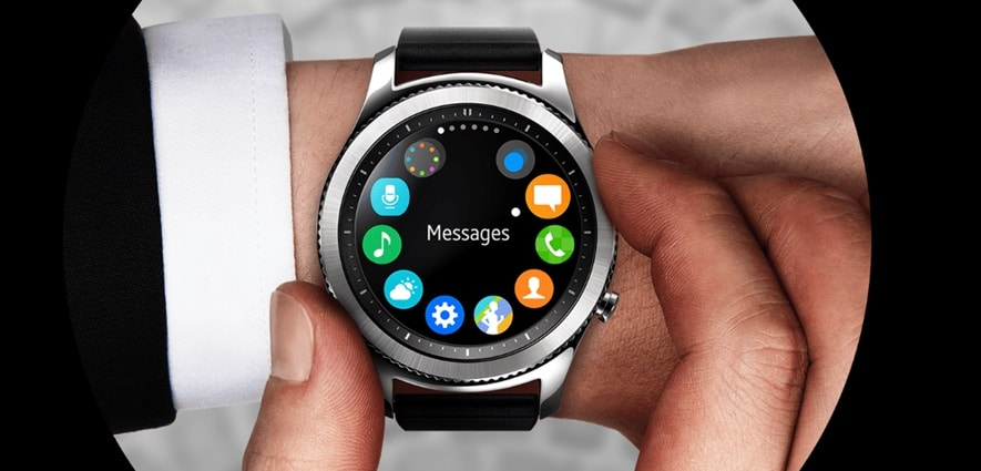 Tizen operating system of Samsung gear frontier