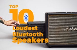 Loudest Bluetooth Speakers On The Market In 2018 Portable Speaker
