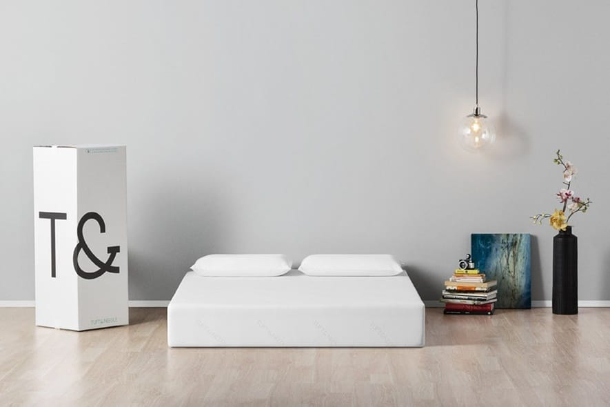 "Once the mattress is unboxed, it ""inflates"" and takes its natural shape"