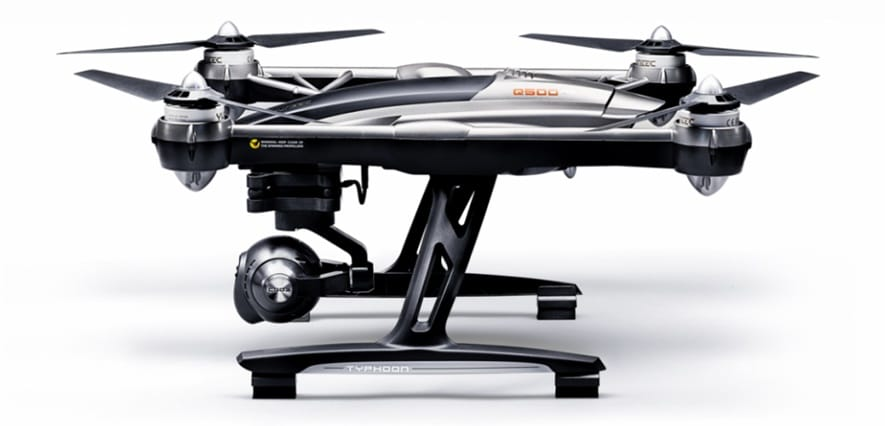 Yuneec Typhoon is currently one of the popular drones