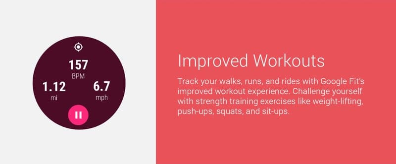 android wear 2 improved workouts