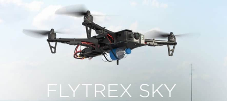 Flytrex helps monitor a drone's movement and position