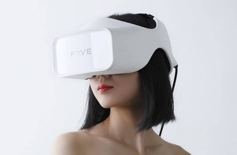 fove o virtual reality headset