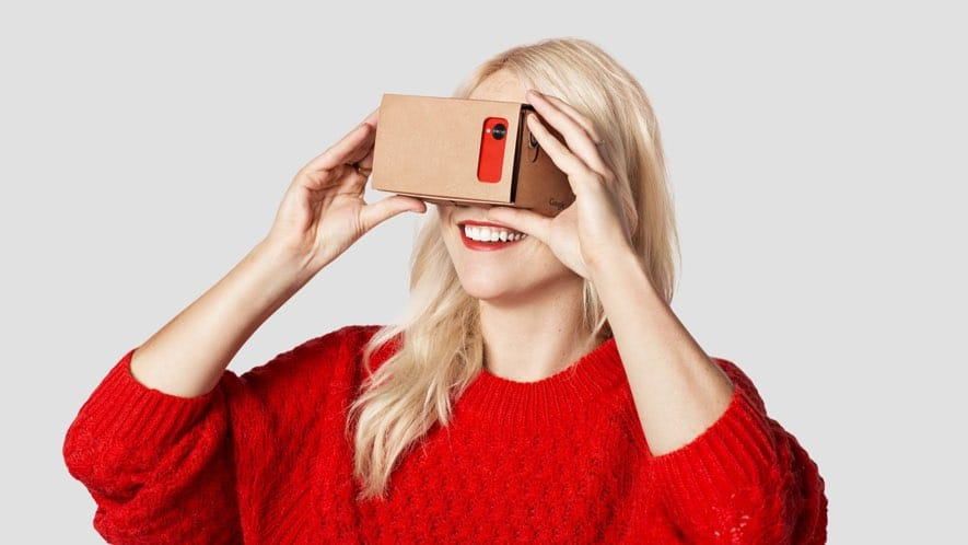 google cardboard cheap vr headset