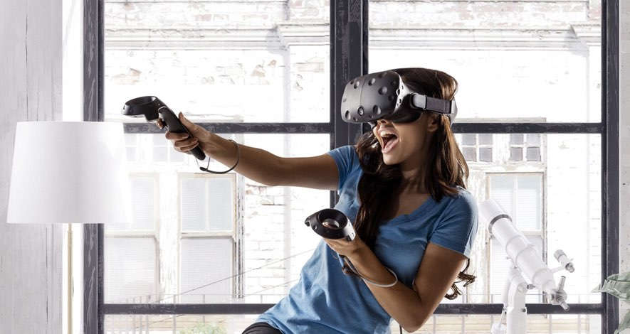 htc vive virtual reality games