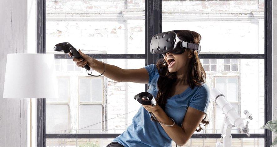 htc vive virtual reality games