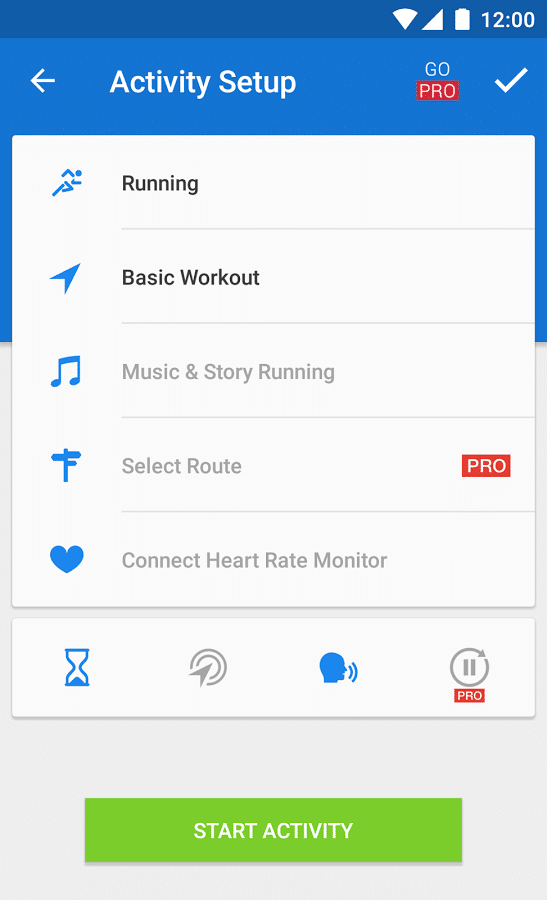 runtastic best running app