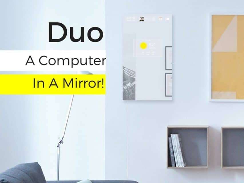 Duo Computer in a Mirror