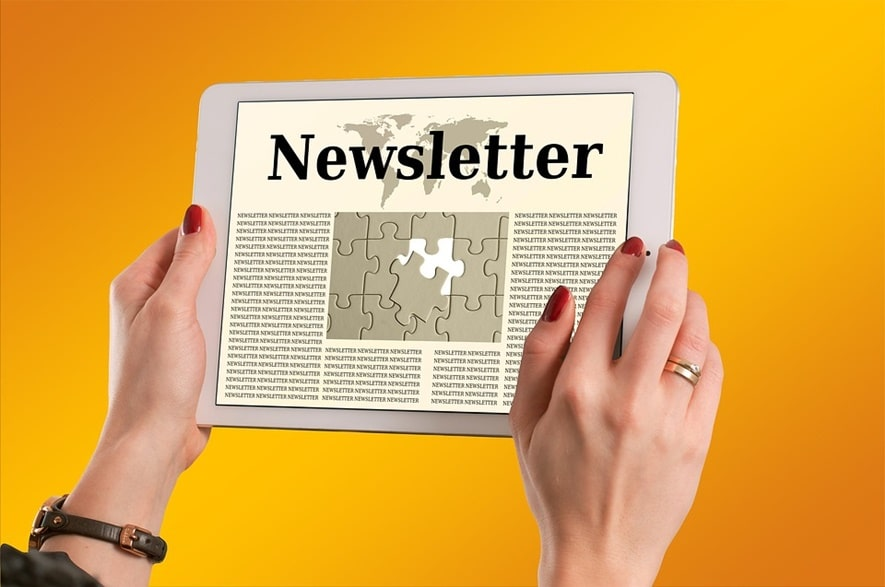 Email newsletter content marketing