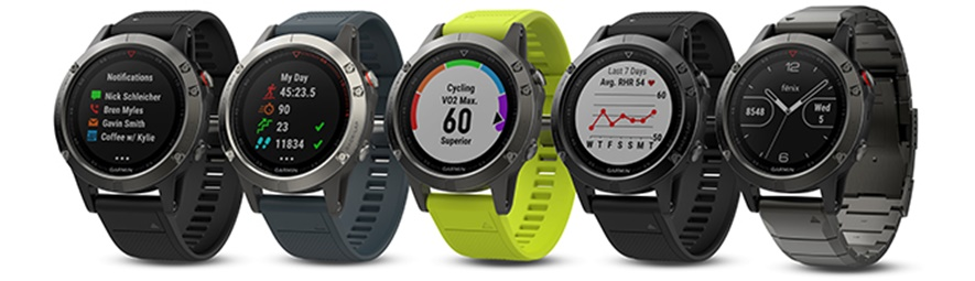 Garmin Fenix smart watch
