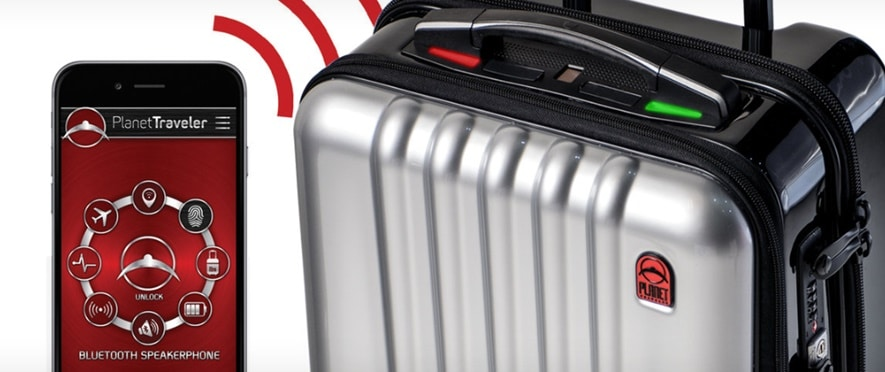 "Planet Traveler says that it ""set out to design the most fashionable smart luggage in the world"