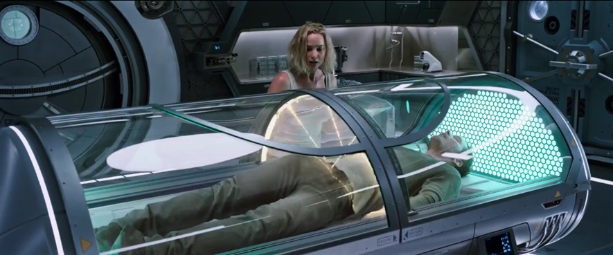 Passengers features multiple complex surgeries simultaneously in a robot-operated pod.