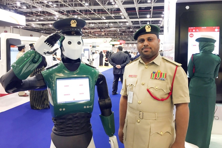 Robotic Police in UAE
