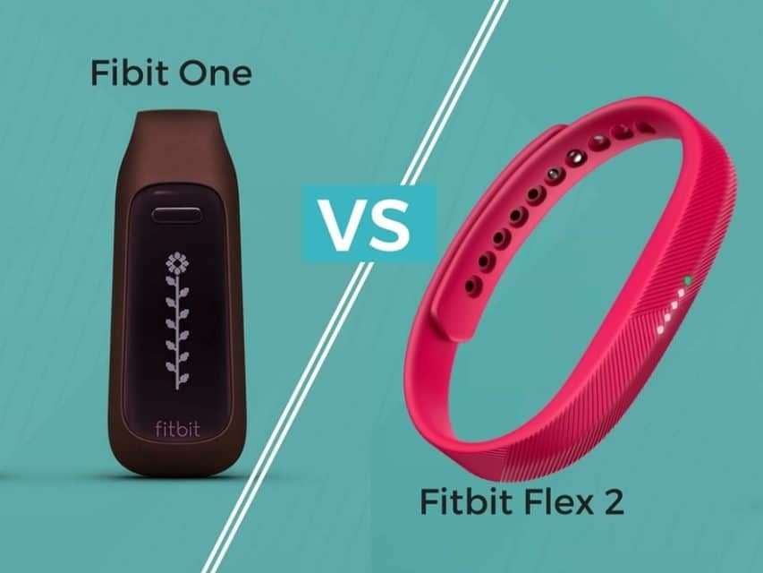 Fibit One vs Fitbit Flex 2