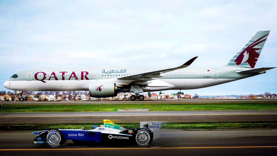 Formula E announces new partnership with Qatar Airways