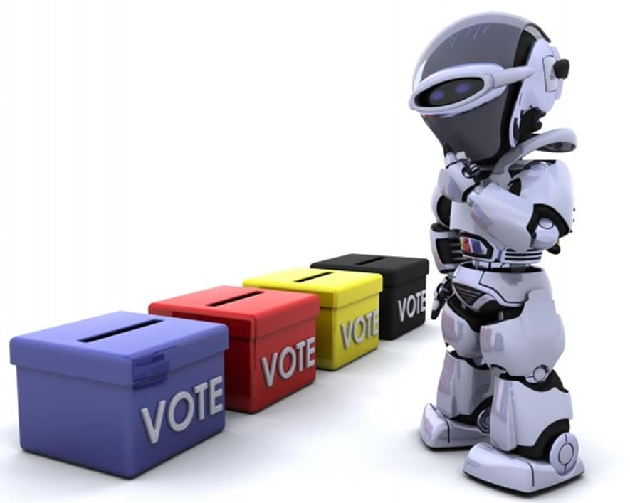 Should Robots Vote?
