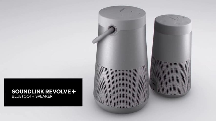 BOSE Soundlink Revolve Plus Loudest Bluetooth Speaker