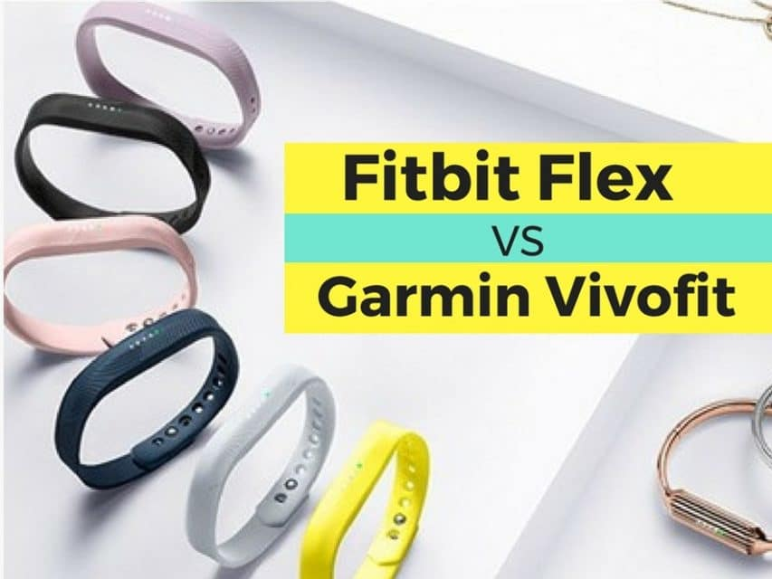 Fitbit Flex 2 vs Garmin Vivofit 3