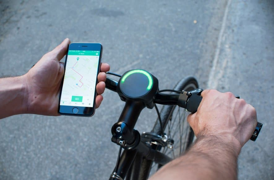 Smart Halo Smart Bike Navigation not only tackles the question of where you are going but how you get there.